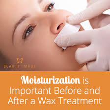 you moisturize after waxing upper lip