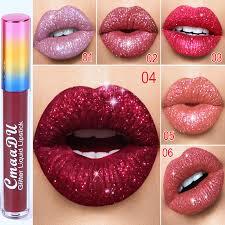 <b>6 Color</b> Diamond Illusion Matte Shinning <b>Lip</b> Gloss <b>Sexy</b> Liquid <b>Lip</b> ...