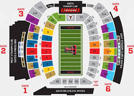 Amazing In Addition To Gorgeous Texas Tech Football Seating