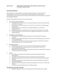 elementary school teacher resume example resume template resume kindergarten teacher resume job description elementary school