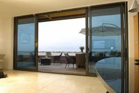 elegant glass patio doors