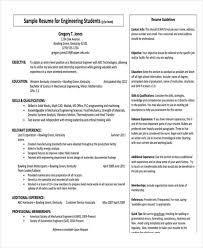 engineering fresher resume format freshers resume formats
