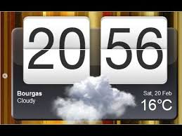 weather clock widget for all android