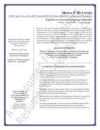 English Language Teacher Resumes Koni Polycode Co Resume Format For