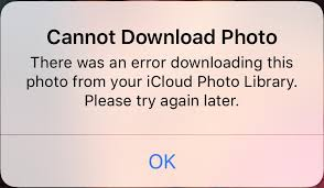 Fix Icloud Error There Was An Error Downloading This