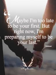 Happy Love Quotes Custom I'll Be Your Last Love Quotes Love Quotes Pinterest