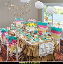 Small Picture Decorating theme bedrooms Maries Manor girls party ideas