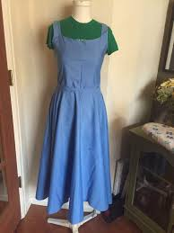 Belle Blue Dress Pattern