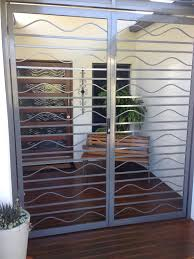 custom handmade steel door