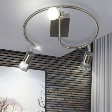 rgb led ceiling light with moving spots vela optima bild 5