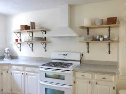 Kitchen Wall Shelf Diy Kitchen Wall Shelves Designs