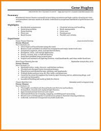 Resume For A Cleaning Job Unique Cleaning Resume On Cleaning Job Resume Cleaning Resume 61