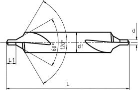 Center Drill Chart Tec Spiral Enterprieses Co Ltd Center Drill Hss Center