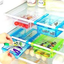 refrigerator organizer bins multipurpose fridge storage sliding drawer refrigerator bins space saver organizer shelf freezer basket