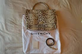 Snakeskin Designer Bags Givenchy Python Shark Snakeskin Designer Handbag Satchel Authentic