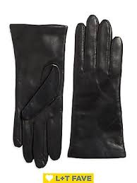 Women's Cashmere & Leather Mid-Length Gloves ... - Lord & Taylor
