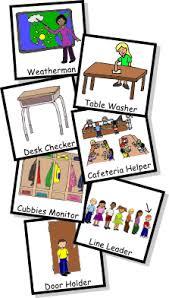 Classroom Jobs Clipart Classroom Jobs Life Skills