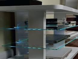 glass shelf lighting. Glass Shelf Lighting Lux Led Set Cabinet Options . S