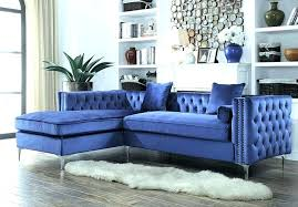 blue sofa living room. Blue Couch Set Tufted Sofa Velvet Sectional Awesome . Living Room