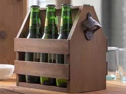 diy wooden beer caddy in six steps