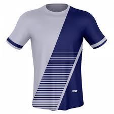 Sports white Custom blue Hyve Jersey Sublimated - Men's