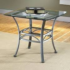 glass top end tables metal lofty inspiration with designs and table round