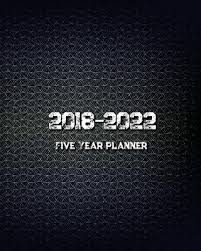1986748677 2018 2022 Five Year Planner Monthly Schedule