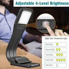 Verso Light For Kindle Led Reading Book Light Flexible Clip Rechargeable Lamp For Kindle Ebook Readers
