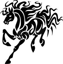 tribal horse head clip art. Simple Art Clipart Info To Tribal Horse Head Clip Art O