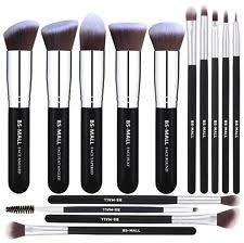 bs mall tm makeup brushes premium 14 pcs synthetic foundation powder conceal