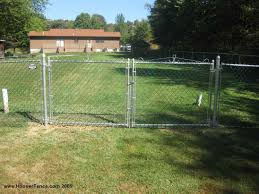 chain link fence double gate. Incridible How Difficult Is It To Install Chain Link Fence Chain Link Fence Double Gate I