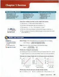 240 standard form of a linear equation p 246 x intercept