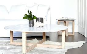modern coffee tables round marble table totem road tab small with stools top trunk black glass side wood large square and contemporary white