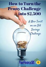 Save A Penny A Day Chart Uk How To Turn The Penny Challenge Into 2 500
