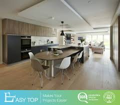 Sylvia Design Cabinets Hot Item Custom Design Mdf Melamine Wood Grain Design Flat Pack Furniture Rta Kitchen Cabinets