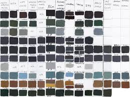 Model Master Enamel Paint Chart Pdf Rlm Luftwaffe Comparison Chart Paint Britmodeller Com
