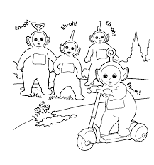 Small Picture transmissionpress Teletubbies Coloring Pages
