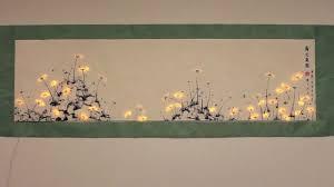 interactive light painting pu gong ying tu dandelion painting on vimeo