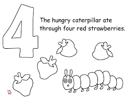Very Hungry Caterpillar Butterfly Coloring Sheet Caterpillar