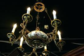 porcelain chandelier