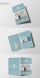 Half Fold Brochure Mockup Free Psd Bi Fold Brochure Mockup
