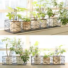 [Covent]Hanging Plant Flowerpot Display ShelfBalcony Flower Hanger Racks/  Plate/