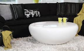 table  white round coffee table modern craftsman compact the most