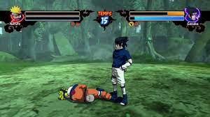 Naruto Rise of a Ninja - Gameplay - Naruto VS Sasuke - Xbox360 - YouTube