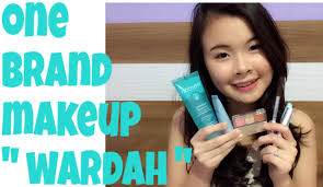 one brand makeup tutorial wardah natural and glowing skin you