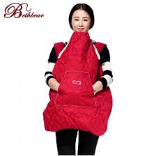 Buy Bethbear Winter Baby Carrier's Cover with pockets for Mom Cloak ...