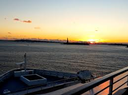 photo essay sailing from new york city acirc how do you measure approaching new york harbor and the statue of liberty