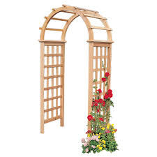 garden arbor lowes. Simple Lowes Garden Architecture 34ft W X 73ft H Natural Arbor To Lowes R