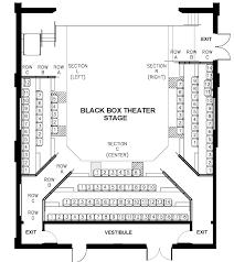 Seating Charts Theatre Arts Uw La Crosse