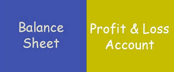 Difference Between Balance Sheet And Profit Loss Account